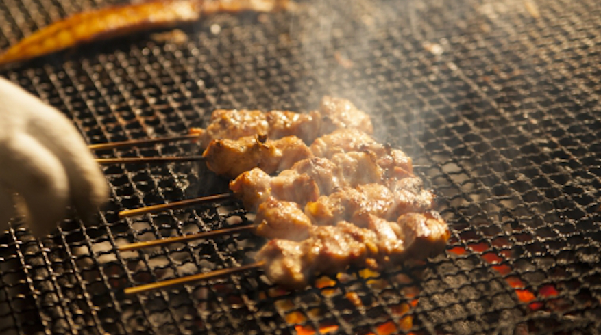 鳴海屋の串焼き